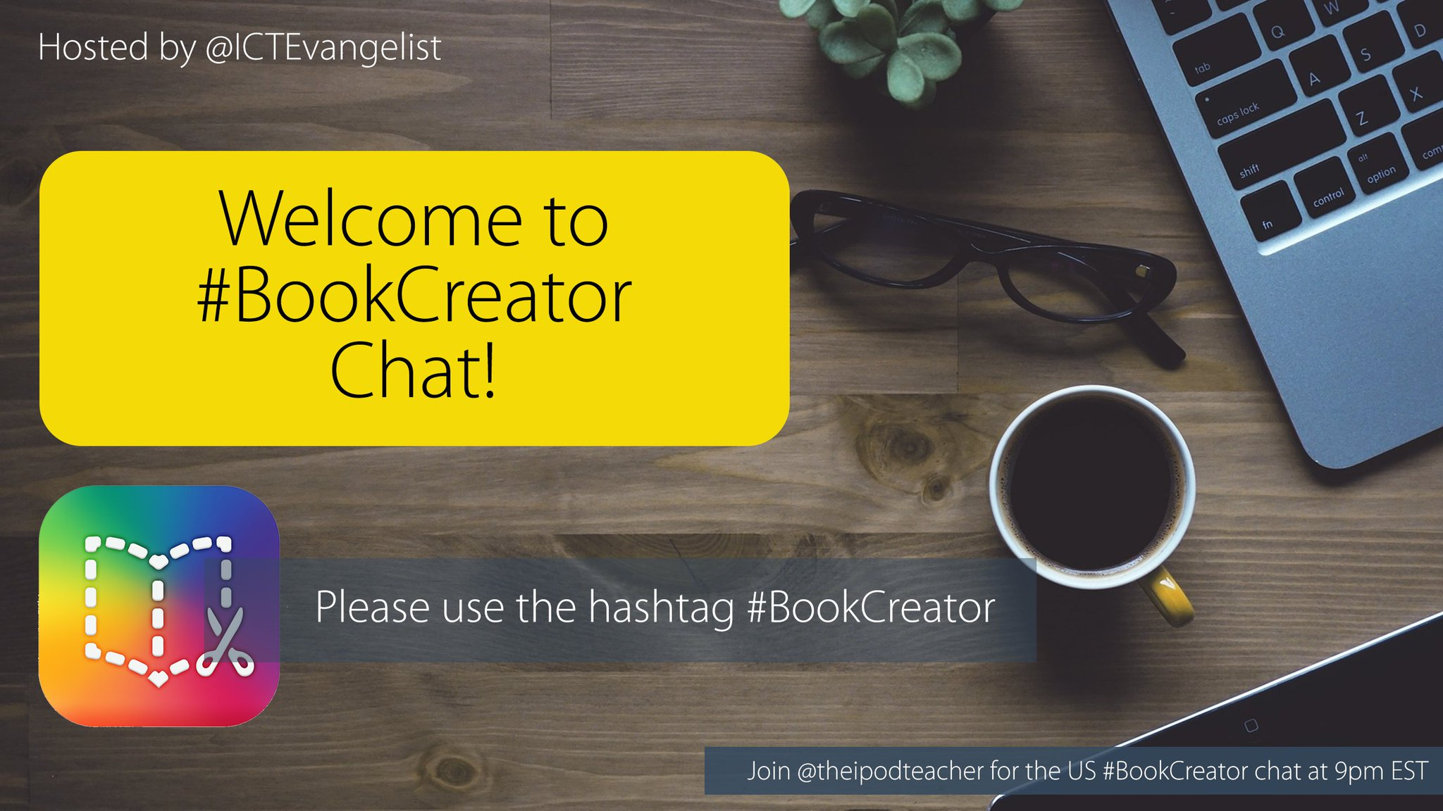 Thumbnail for #BookCreator chat UK 8/12/16