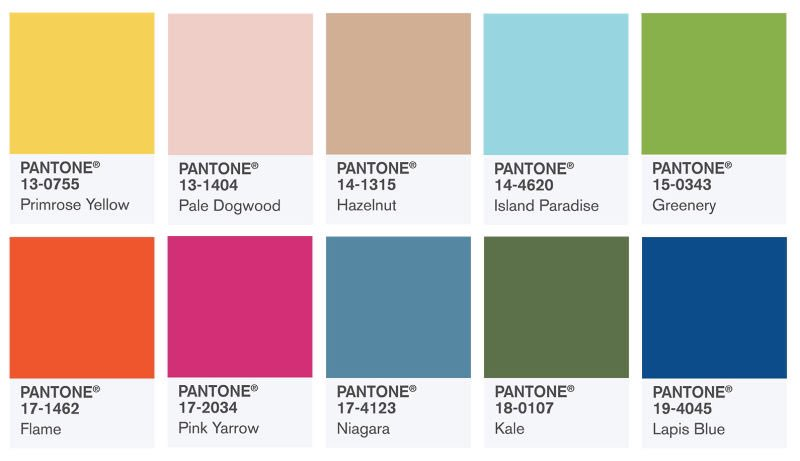 And @pantone's 2017 color of the year is... https://t.co/QpEHk1YsGU