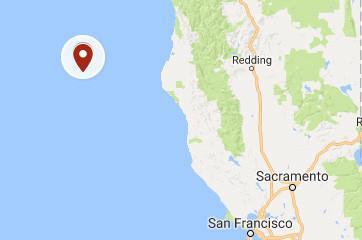 Prelim 6.5 earthquake strikes off Northern California coast