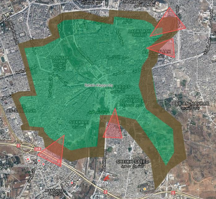 Штурм Алеппо. 08.12.2016