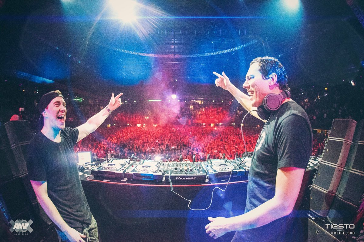 Throwback to playing b2b with @tiesto during ADE this year!