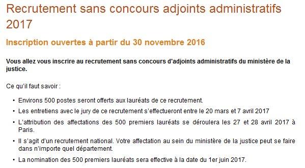 45d90ae36ed Inscriptions ➩  http   www.metiers.justice.gouv.fr metiers-administratifs-et-de-linformatique-12683 adjoint-administratif-12727  recrutement-sans-concours- ...