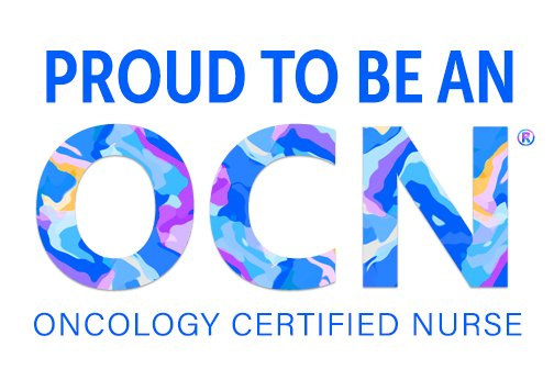oncology nurse certified oncc proud