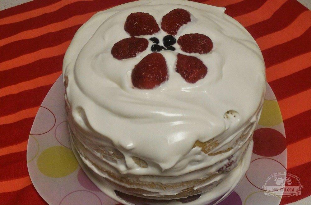 Рецепт с фото торта королевский