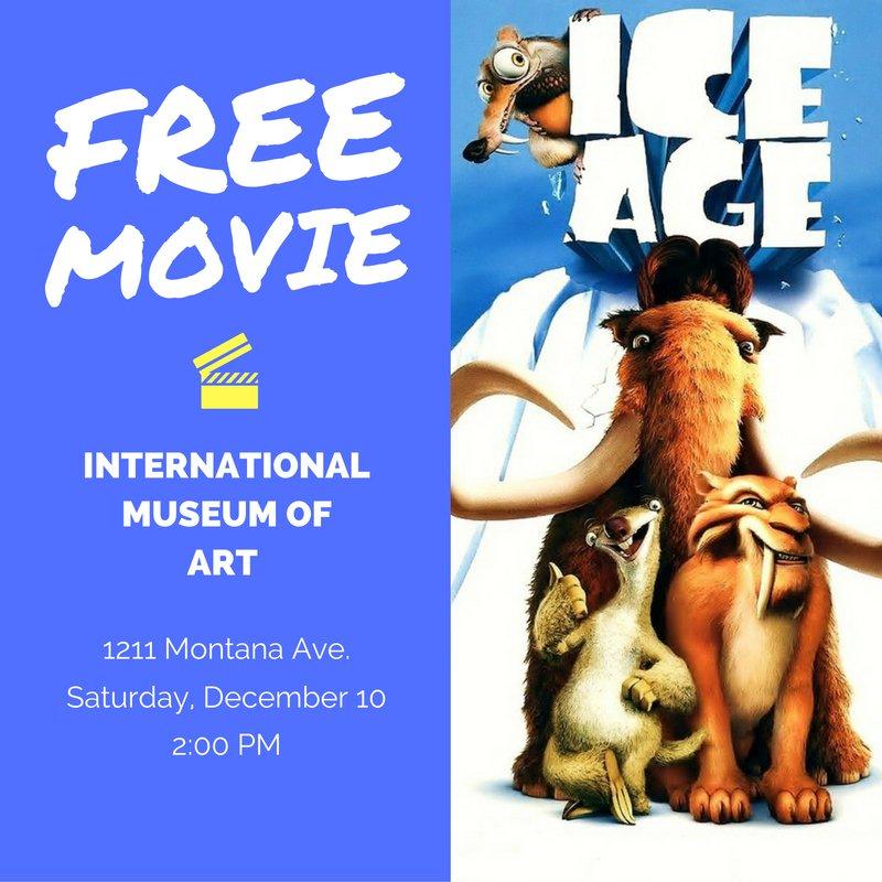 FREE MOVIE this Saturday at the International Museum of Art! Make plans: ItsAllGoodEP