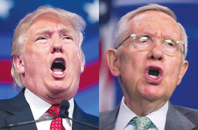Reid: Trump 'not as bad as I thought,' but nation still fearful of him