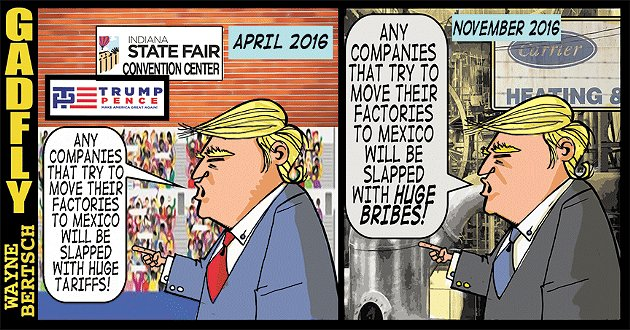 Gadfly: Trump's Carrier deal