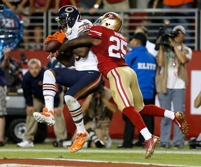 49ers Jimmie Ward to push back against Brandon Marshall in rematch