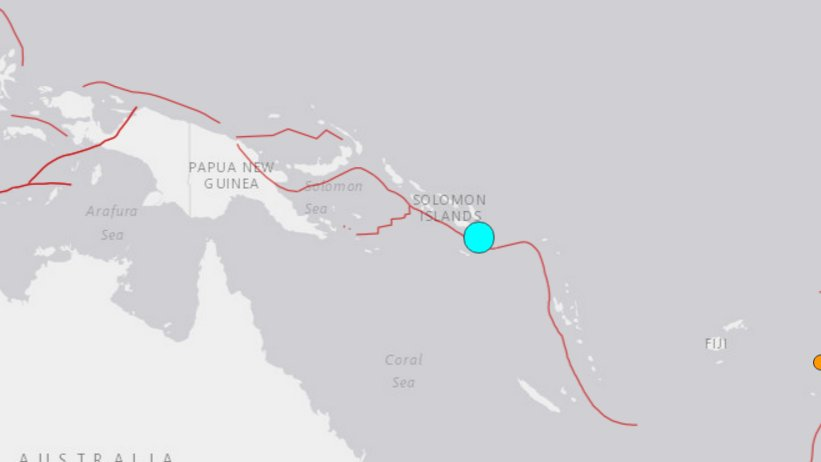 Hawaii on tsunami watch after USGS reports 7.7 earthquake near Solomon Islands