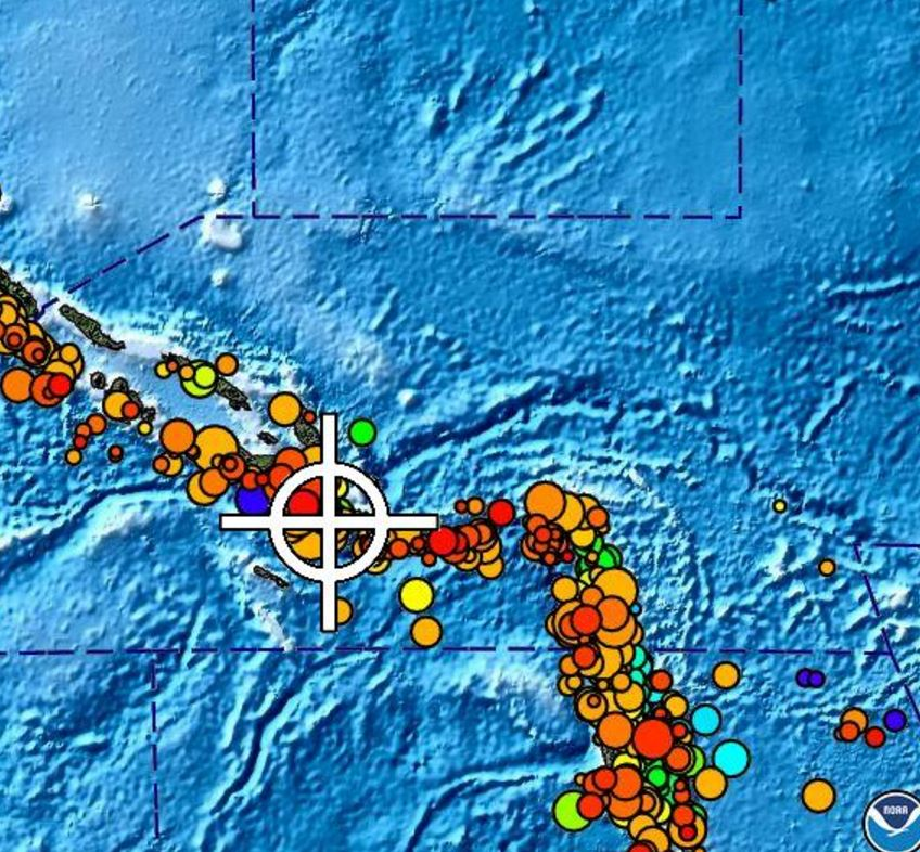 JUST IN: Tsunami watch issued for Hawaii after 7.7M earthquake near Solomon Islands.