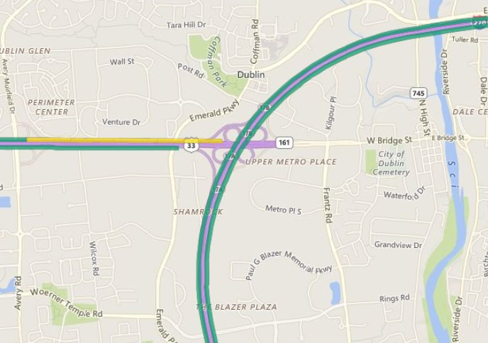 GOOD NEWS: @ODOT_Columbus says all ramps for US-33 WB are planned to open tomorrow on the northwest side!