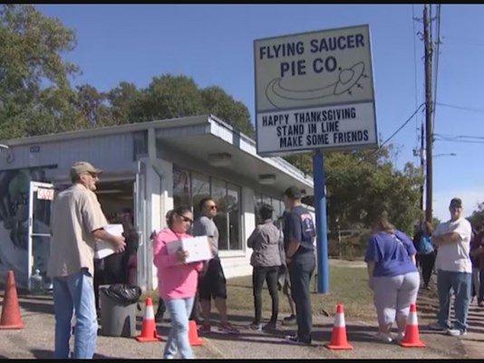 Uh oh! Flying Saucer Pie Co. temporarily closing through Christmas HouNews KHOU
