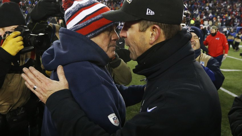 Patriots can clinch AFC East title with win over Ravens