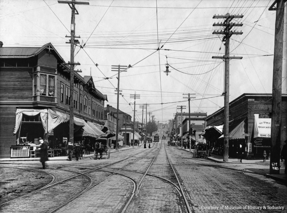 Pike was the main street of early Seattle's north end, and the best route uphill