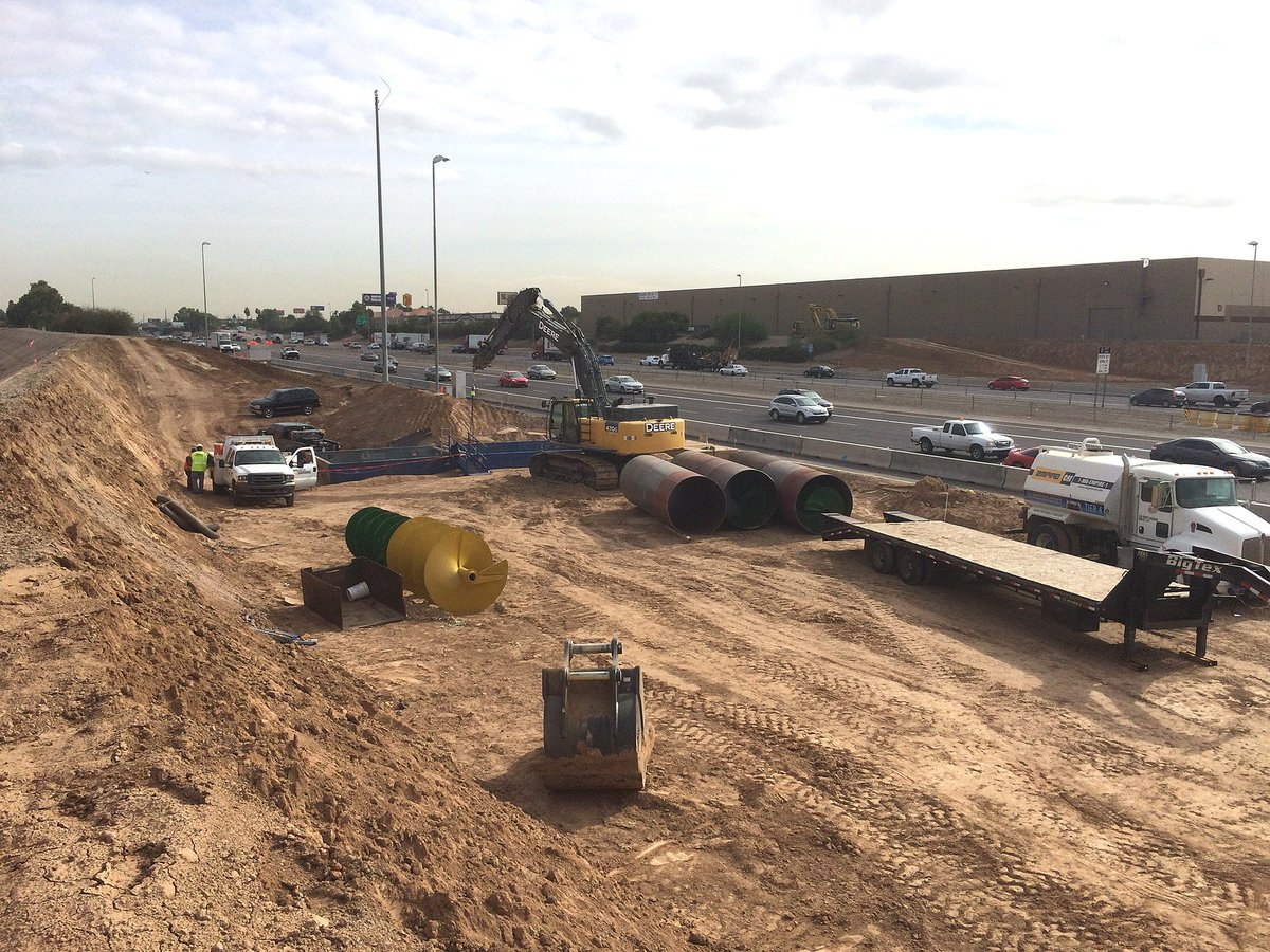Utility work marks start of South Mountain Freeway construction in West Valley