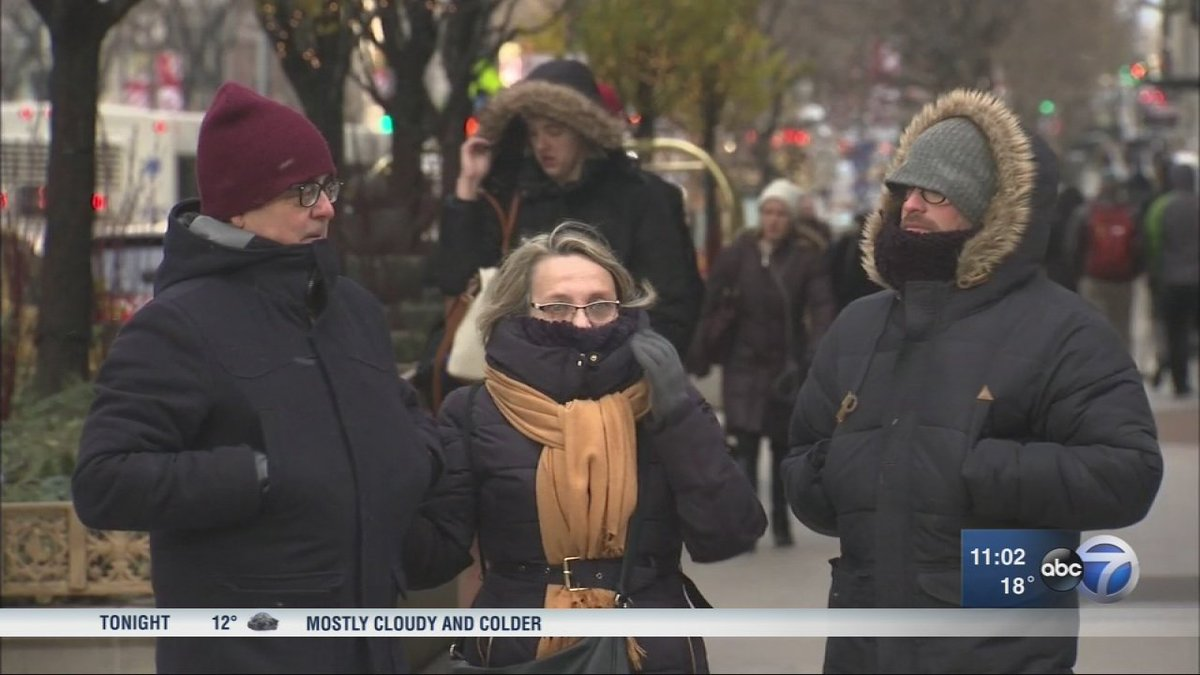 Chicago Weather: Single-digit wind chills on coldest day of season so far - layer up!