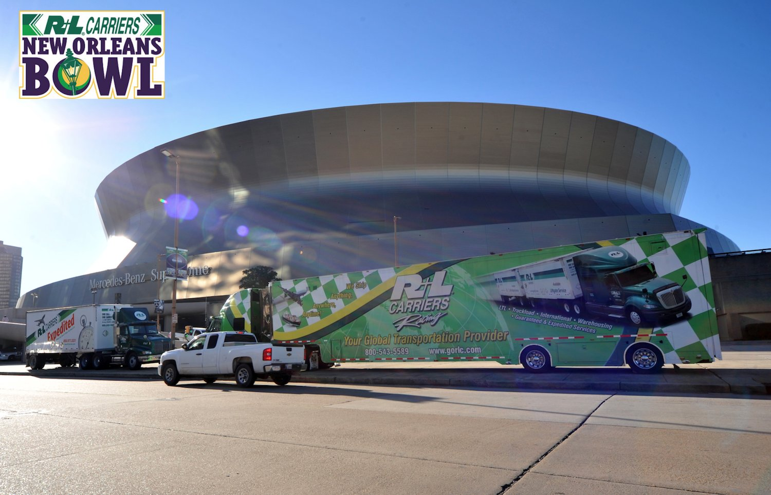 Shout out to our sponsors @RLCarriers! #DYK that the #RLBowl has been held at that iconic @MBSuperdome, since 2006? https://t.co/MVO6epN8IE https://t.co/dnQIhcFcxC