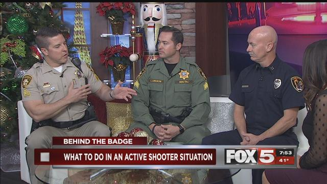 Behind the Badge: How emergency personnel prepare for an active shooter situation>