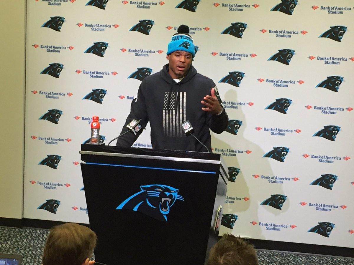 Cam Newton on stats being down across the board: