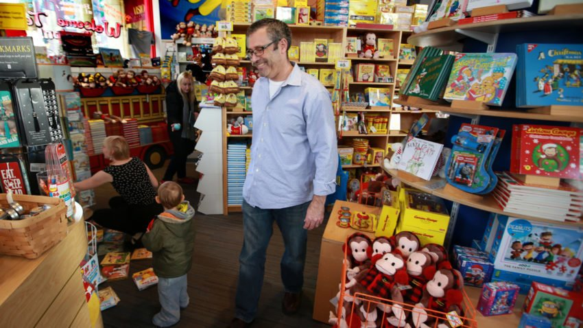 Harvard Square's iconic Curious George Store isn't closing anytime soon