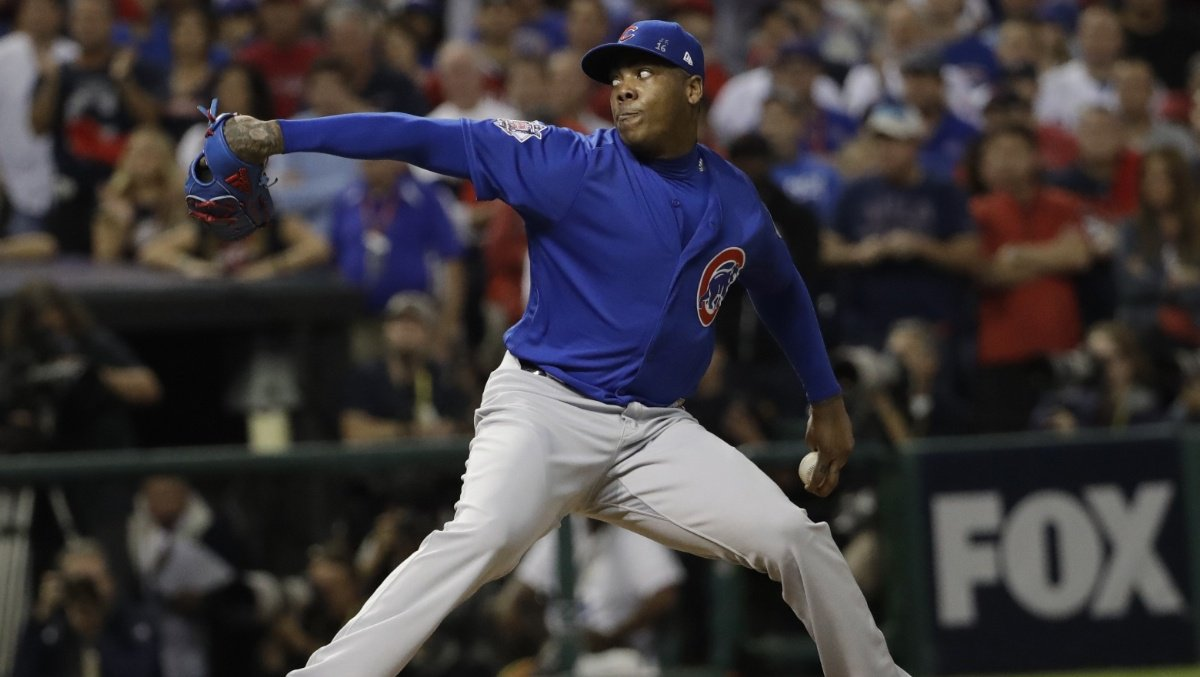 With $86M Chapman deal, Yankees straddle present and future