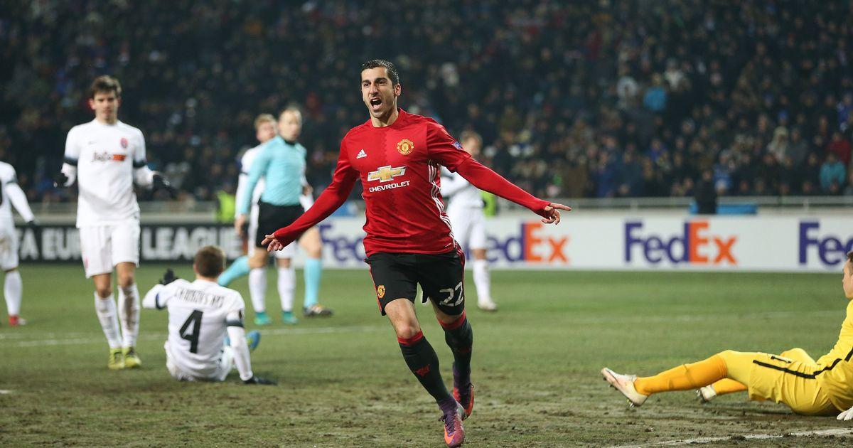 Video: Zorya vs Manchester United