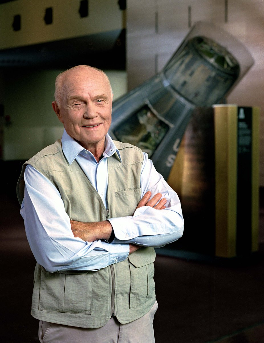 We mourn the passing and celebrate the life of Senator John Glenn. His legacy of friendship and discovery will live in our halls forever.