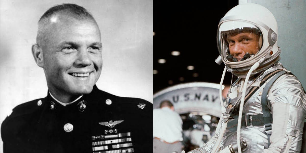 The Corps lost a legend today.  Col. John Glenn— an astronaut, a senator, a Marine— died at the age of 95.  Semper Fi, Sir.
