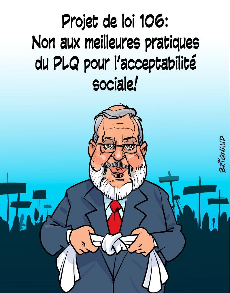 PL-106 sous bâillon : vs ne nous bâillonnerez pas, vs n&#39;entrerez pas chez nous. @PierreArcand @phcouillard #plQc  http:// ow.ly/mWEh306WOve  &nbsp;   <br>http://pic.twitter.com/D4VFLHtwHu