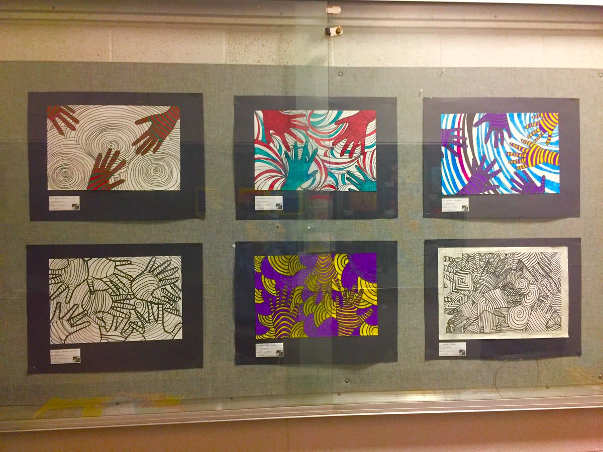 Op art uses color to create - Chadwick Es 5th 4th Gr Use Line Shape Color To Create Op Art Displayed Secsqmall Incredible Talent Visualartsbcps Missybeltpic Twitter Com