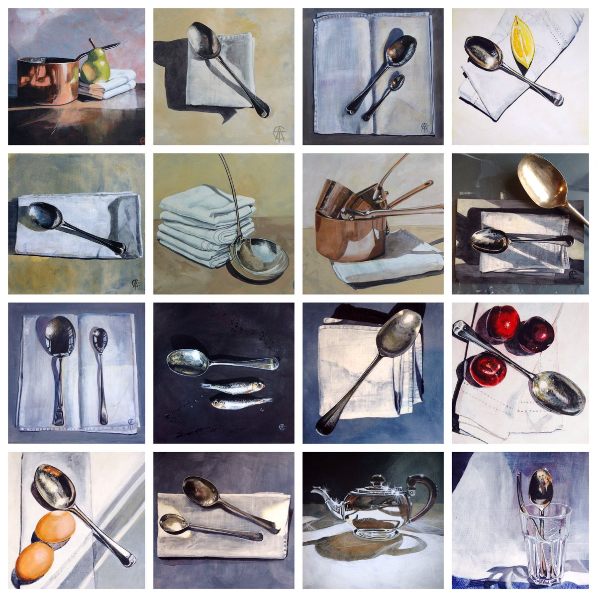 I really love painting metal! Look how many times I have painted my Grandma's old silver spoon! ... https://t.co/DnmeuVW254