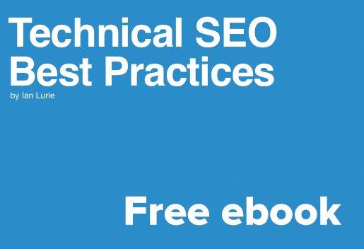 I wrote an ebook. It's free: Technical #SEO Best Practices https://t.co/r88GCvGWpd You'll like it. https://t.co/rYYKk88plJ