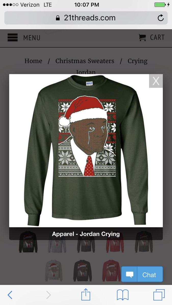 Roy Bellamy On Twitter Crying Jordan Ugly Sweater Has To Be Out