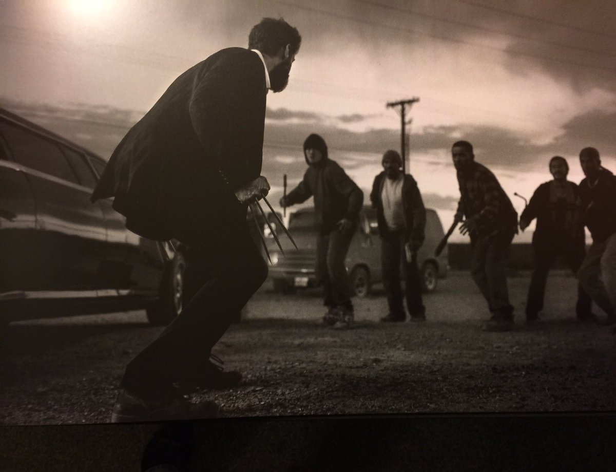 """Logan"" : "" Wolverine 3 "" de James Mangold avec Hugh Jackman - Page 4 CzMn90EUQAA2iRo"
