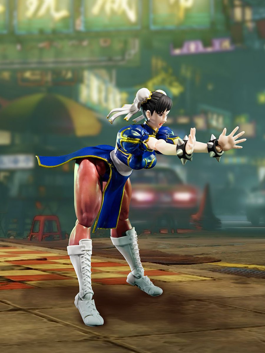 Tamashiinations On Twitter Lightning Kick Chun Li From Street