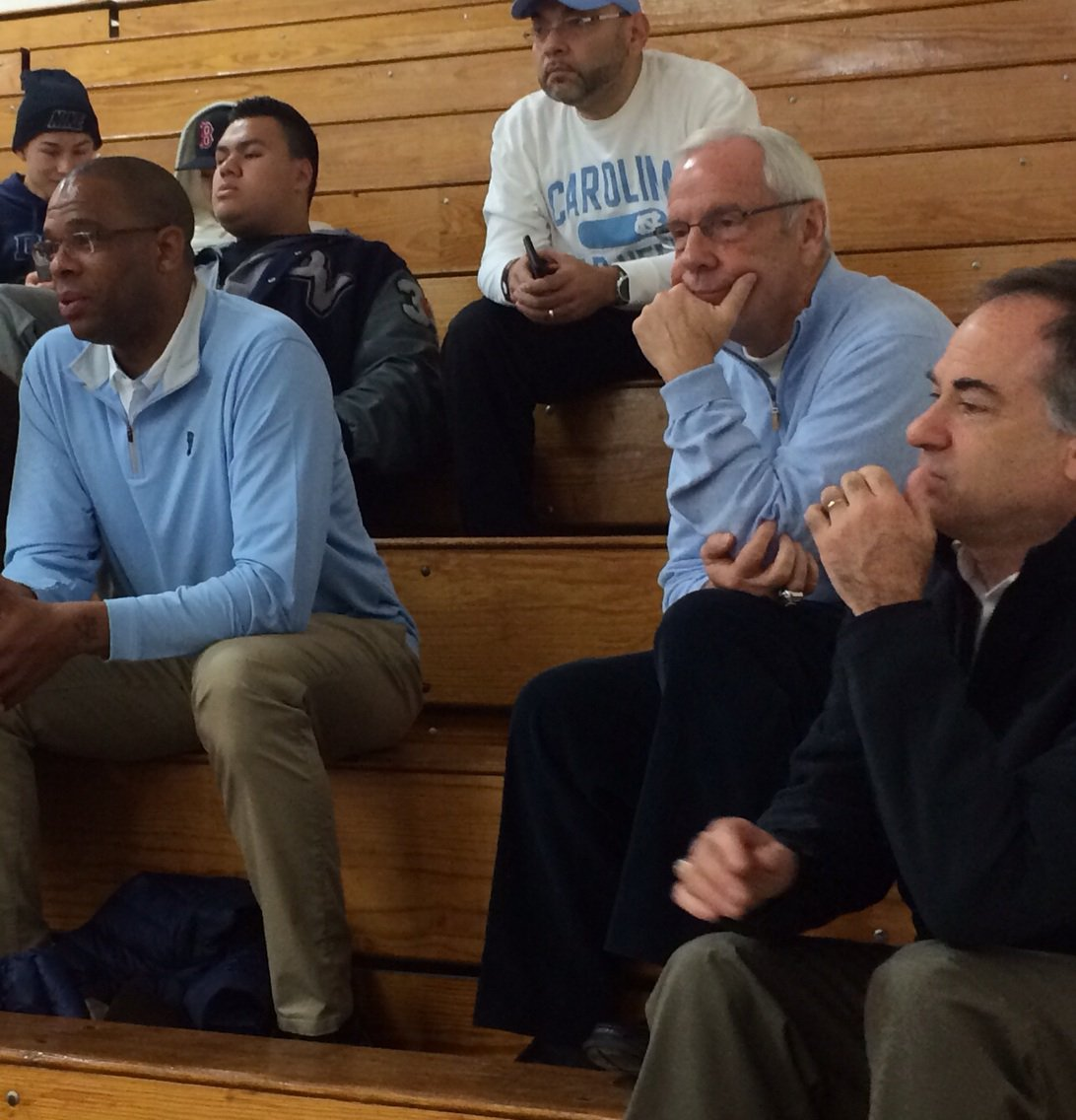 North Carolina's Roy Williams is in town for the McDonalds Classic
