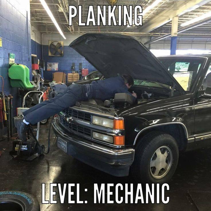 Rachel de barros mechanic pictures to pin on pinterest for Garage auto reparation soi meme