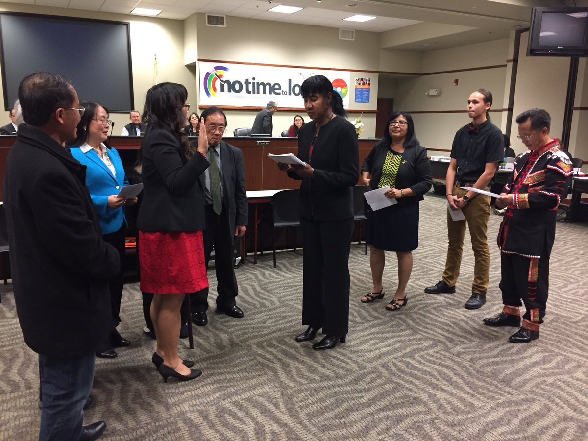 Sac City Unified On Twitter New Board Member Mai Vang Takes The