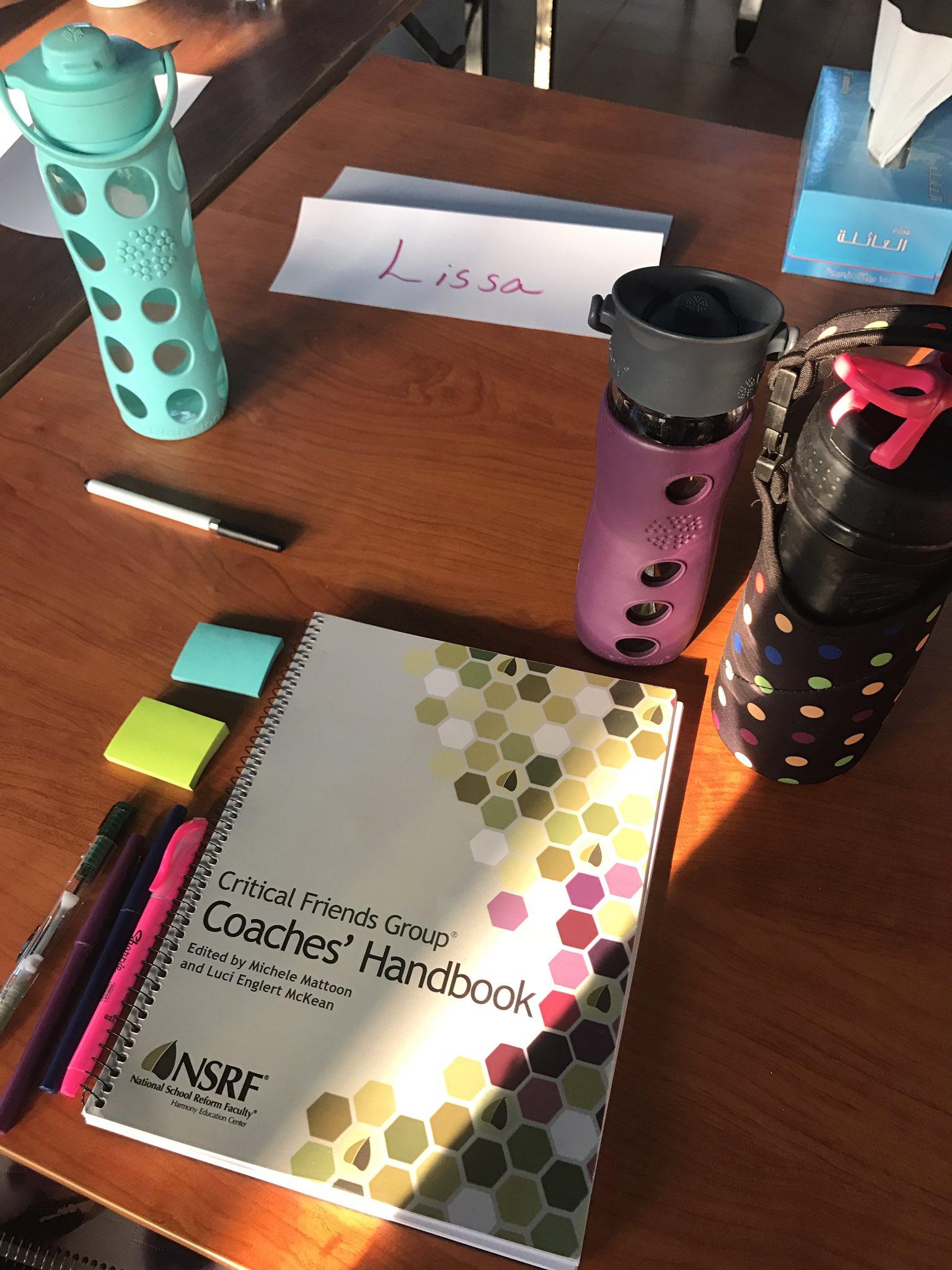 Day 2 of #CriticalFriends Coach training! #CFGwork #AISQ8 https://t.co/vQhVpGwuoQ