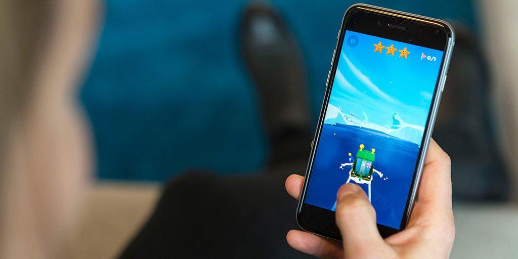 Social Media Post: Blog.#Telekom: #SeaHeroQuest – Chancen der #Digitalisierung...