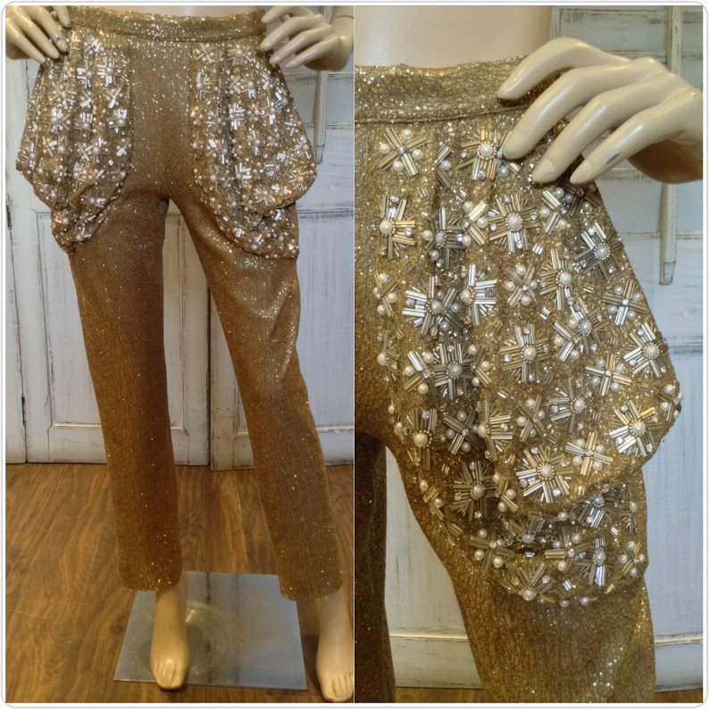 Go Gold this new years with these statement pants from #SeemaKhan at #Bandra190 Call us 022 64543666,email:shopseemakhan@gmail.com