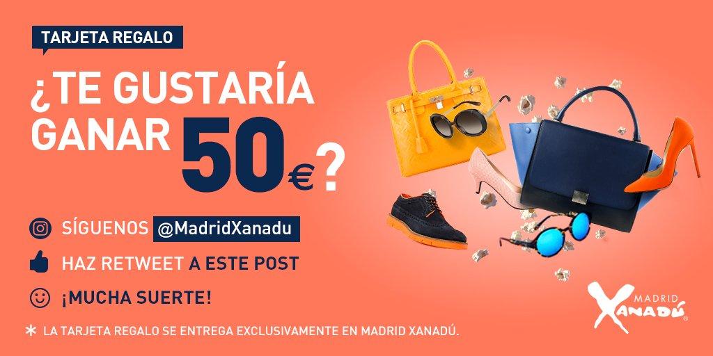 ¿Quieres Ganar una tarjeta regalo de 50€? Es sencillo: Síguenos y haz Retweet a este post y entrarás en el sorteo. https://t.co/wSoNLGFLDO