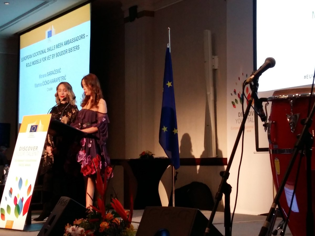 Eu Cedefop On Twitter Euvocationalskills Fashion Designer Sisters From Croatia Talk About Being Vocational Education Training Ambassadors Https T Co Cia8fa5x3q