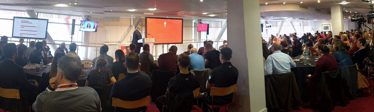Big day for us at @doopoll, we're gathering live feedback at the @WelshRugbyUnion's annual staff conference. Couldn't be prouder.