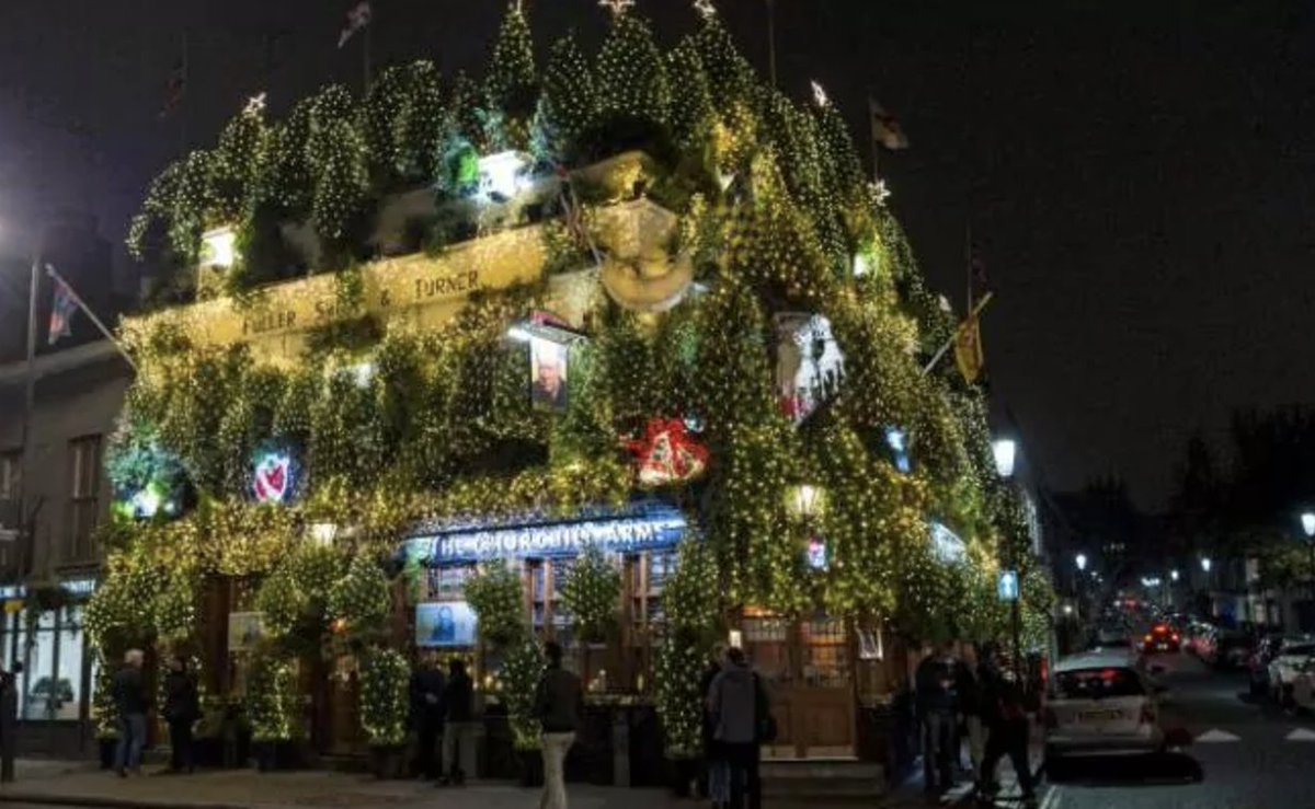 The Churchill Arms: Britain's most festive pub https://t.co/yp3nbCXcRK