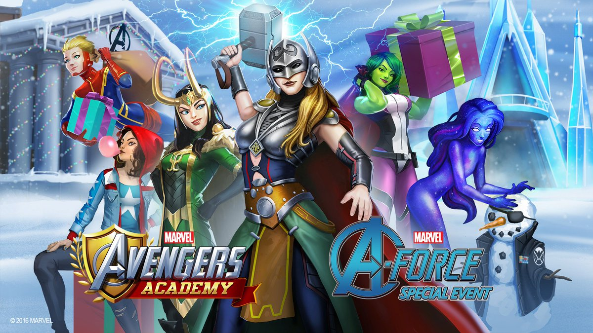 captain marvel avengers academy