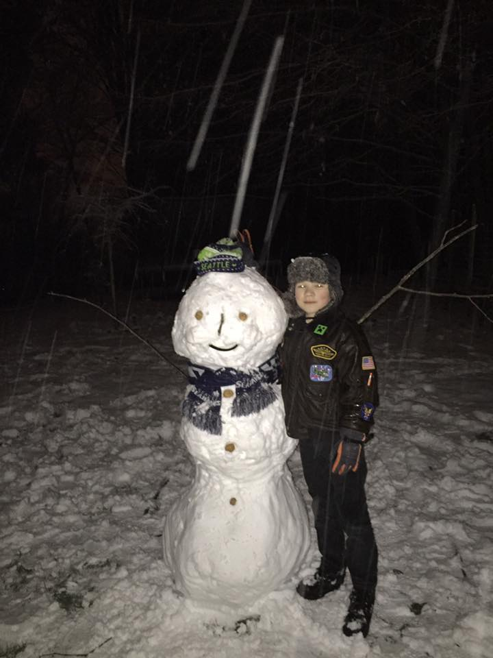 It's BlueFriday AND White Friday. GoHawks! (credit: Laura King in Port Orchard)