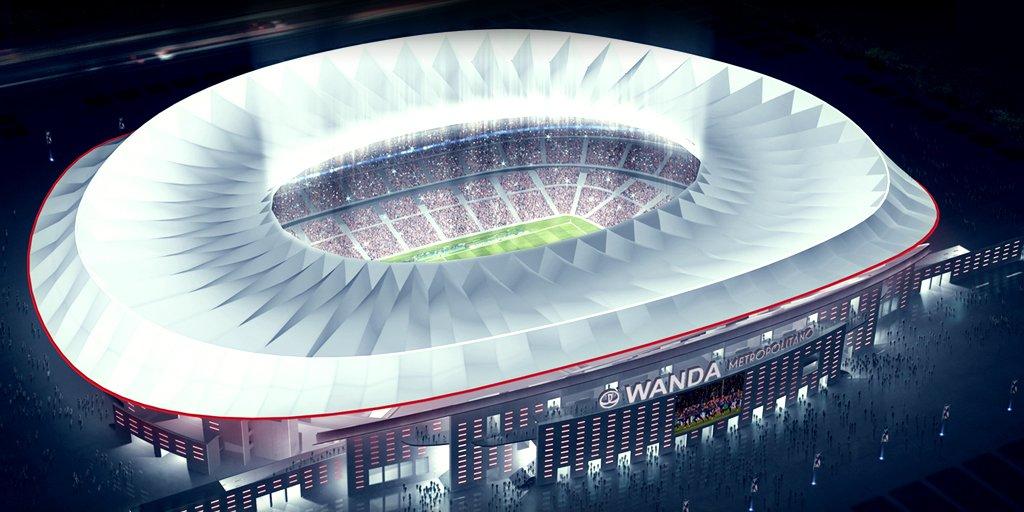 Новый стадион Атлетико