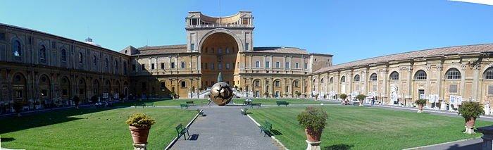 En la actualidad se encuentra en el Museo del Vaticano. #storart1 #MGP https://t.co/W1St6OUOeu
