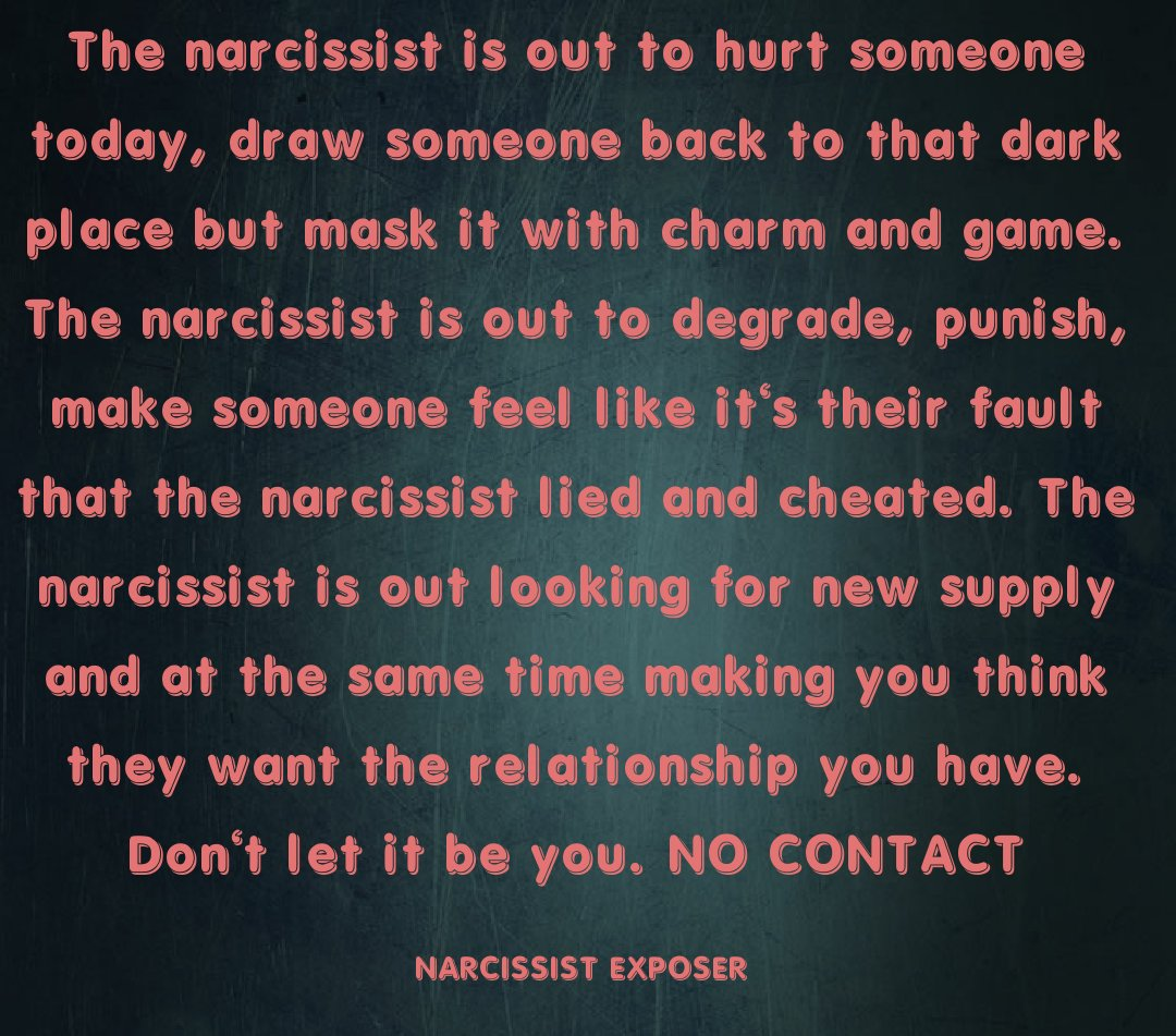 Narcissist Lied